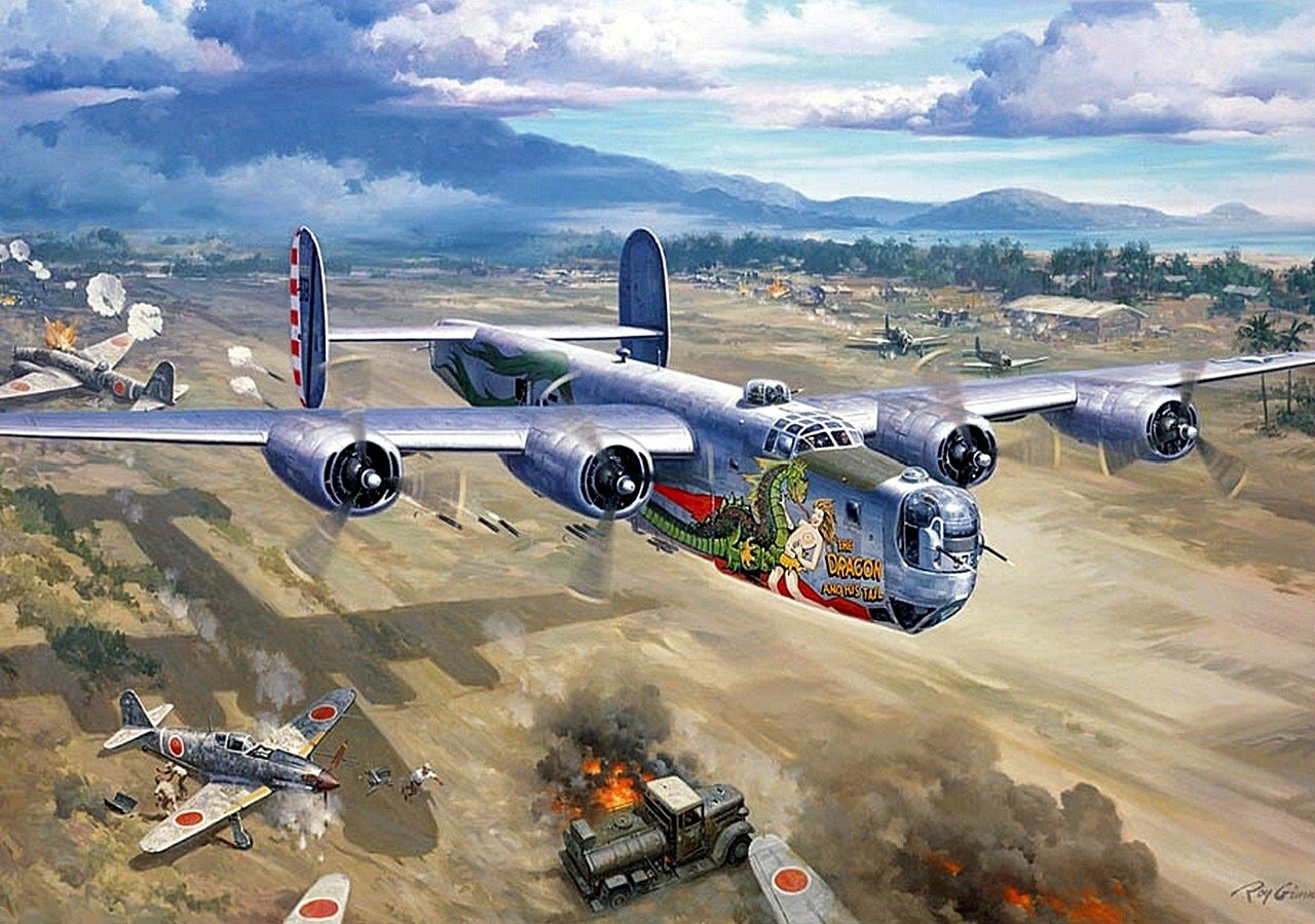 1280x900 - Consolidated B-24 Liberator Wallpapers 11