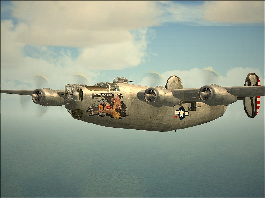 1024x768 - Consolidated B-24 Liberator Wallpapers 24