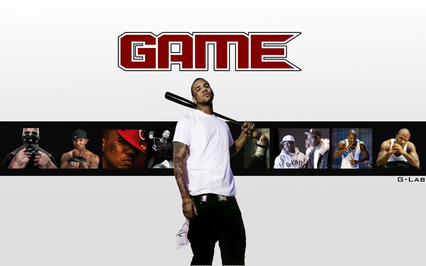 1440x900 - The Game Rapper Wallpaper 2018 12