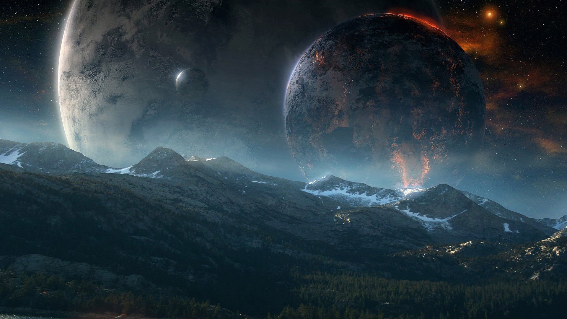 1920x1080 - Planet Rise Wallpapers 1