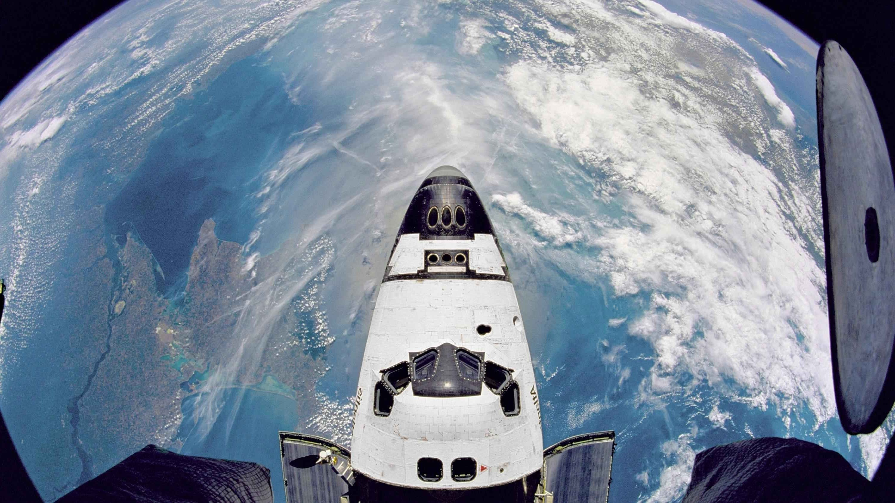 3000x1688 - Space Shuttle atlantis Wallpapers 25