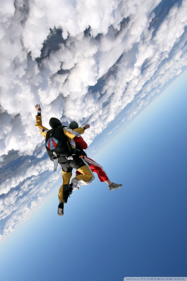 640x960 - Skydiving Wallpapers 4