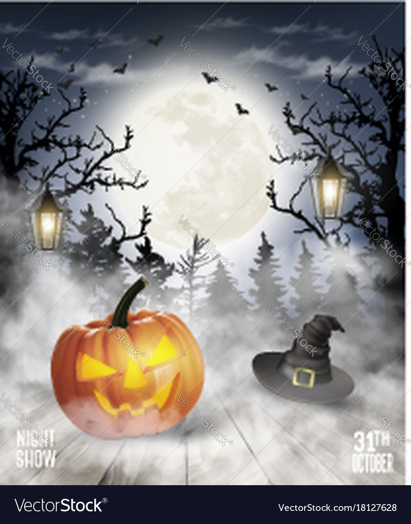 846x1080 - Scary Halloween Background 10
