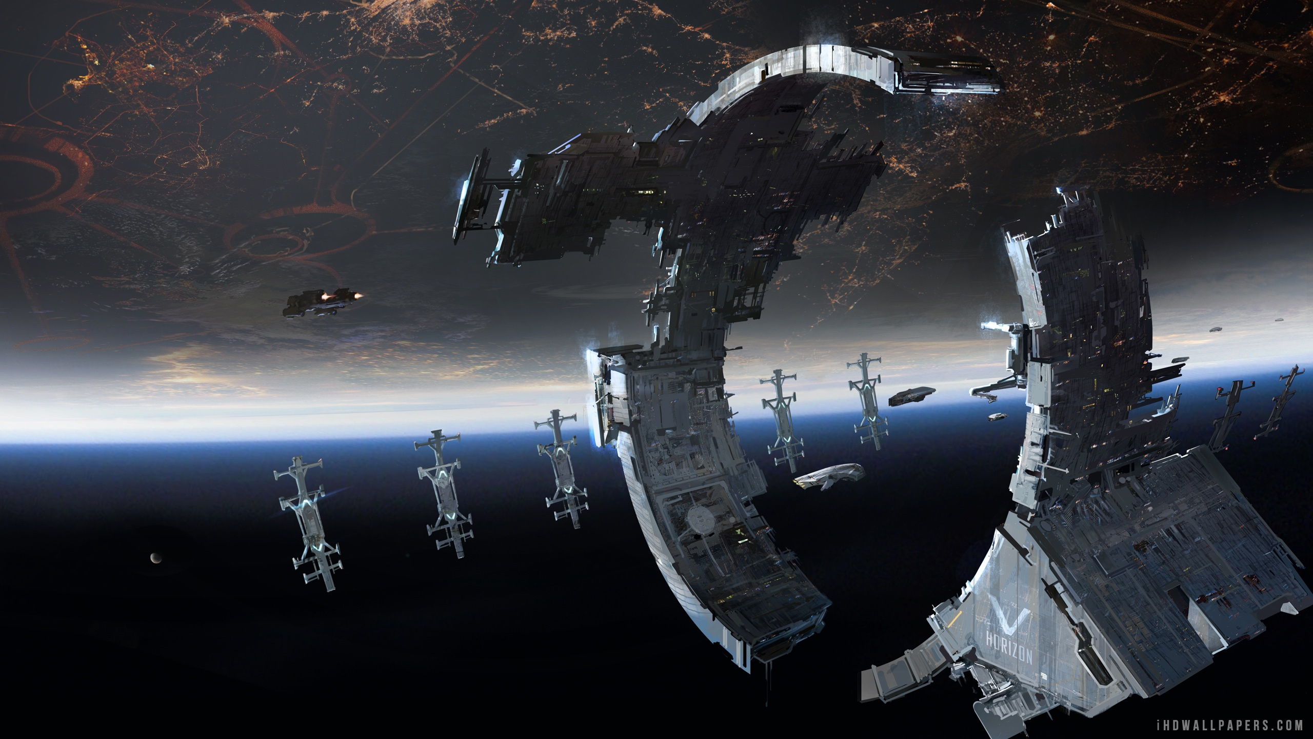 2560x1440 - Space Station Wallpapers 8