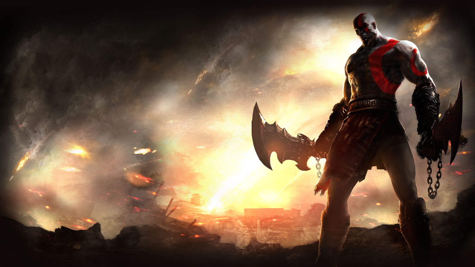 God Of War Hd Wallpapers 27 Images Dodowallpaper