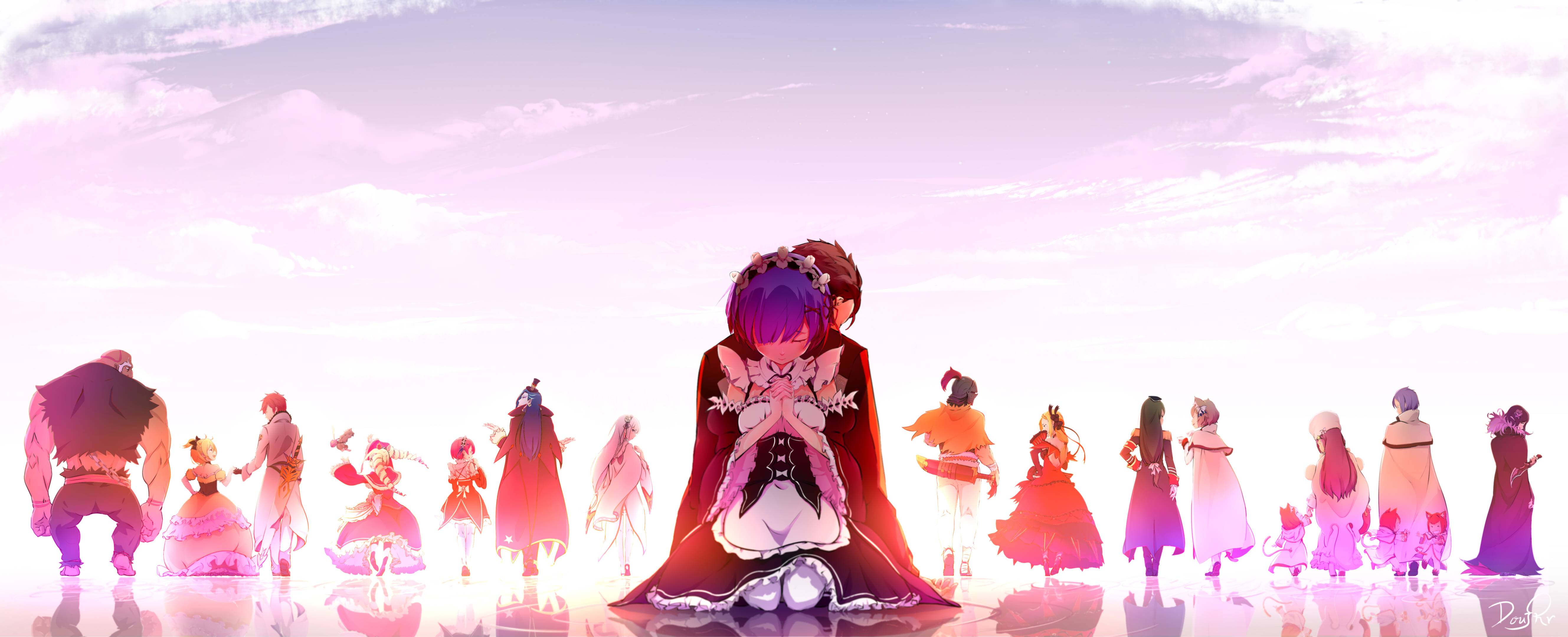 Re Zero Starting Life In Another World Wallpapers 29
