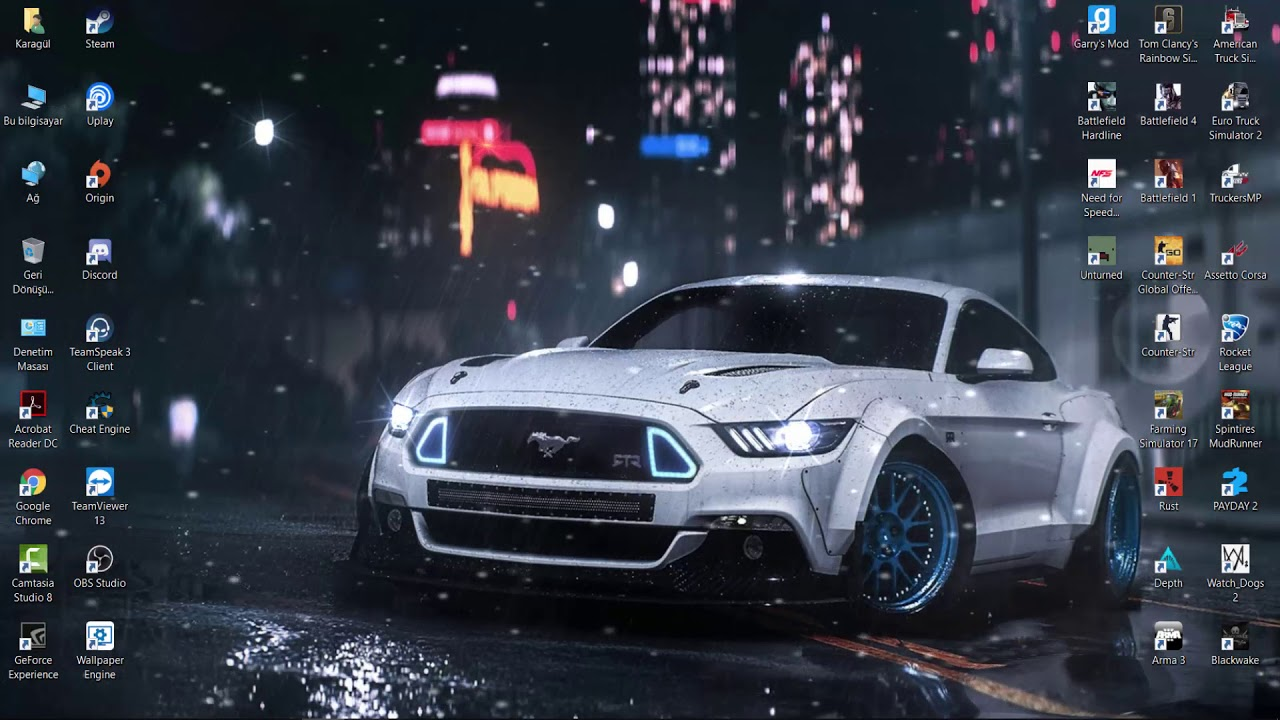 1280x720 - Ford Mustang GT Wallpapers 9