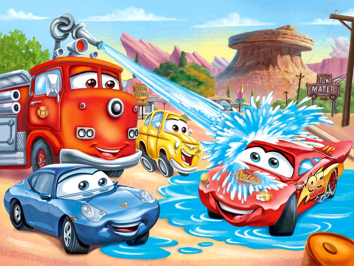 1200x900 - Wallpaper Cars Cartoon 7