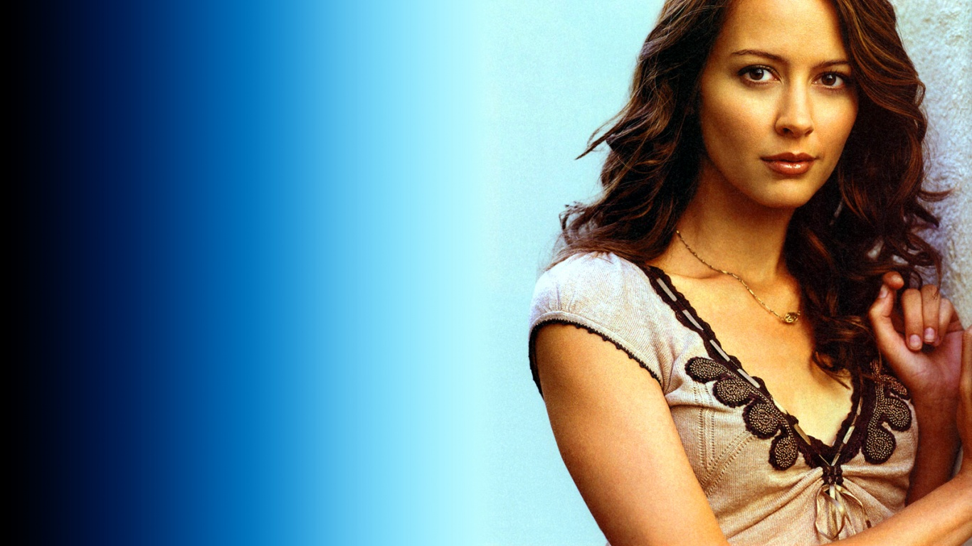 1366x768 - Amy Acker Wallpapers 11
