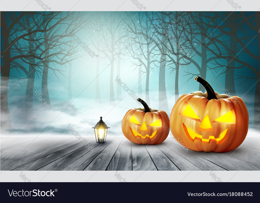 1000x780 - Scary Halloween Background 18