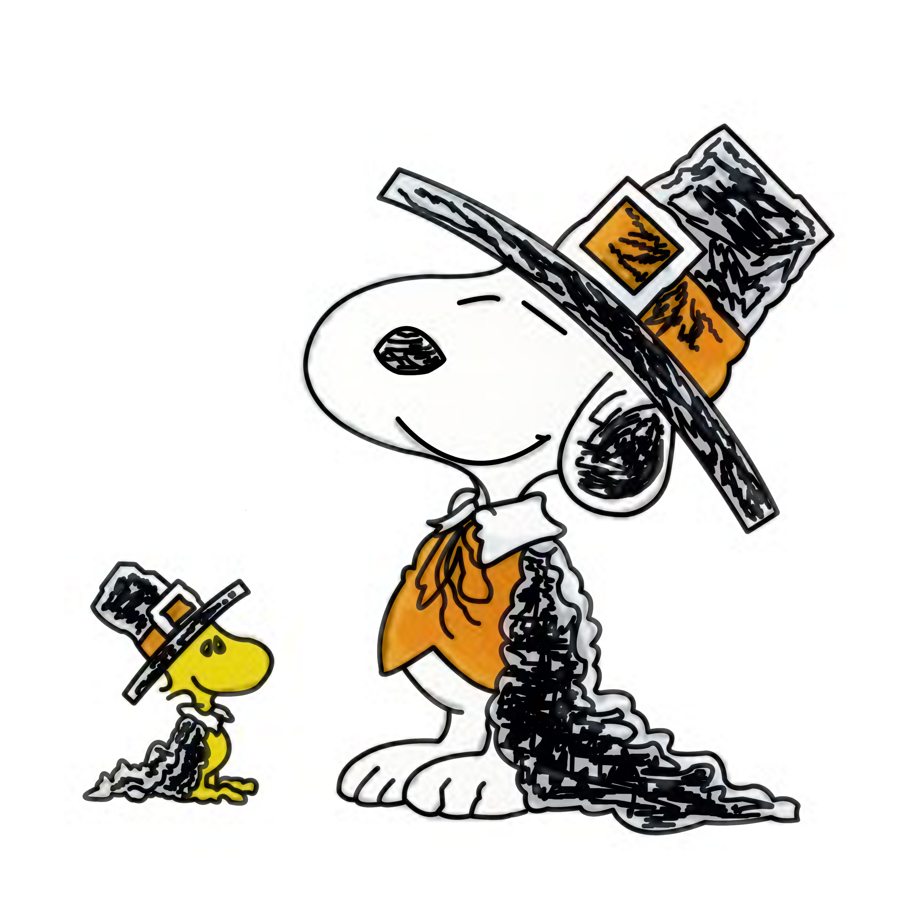Snoopy And Woodstock Thanksgiving 34 Images Dodowallpaper
