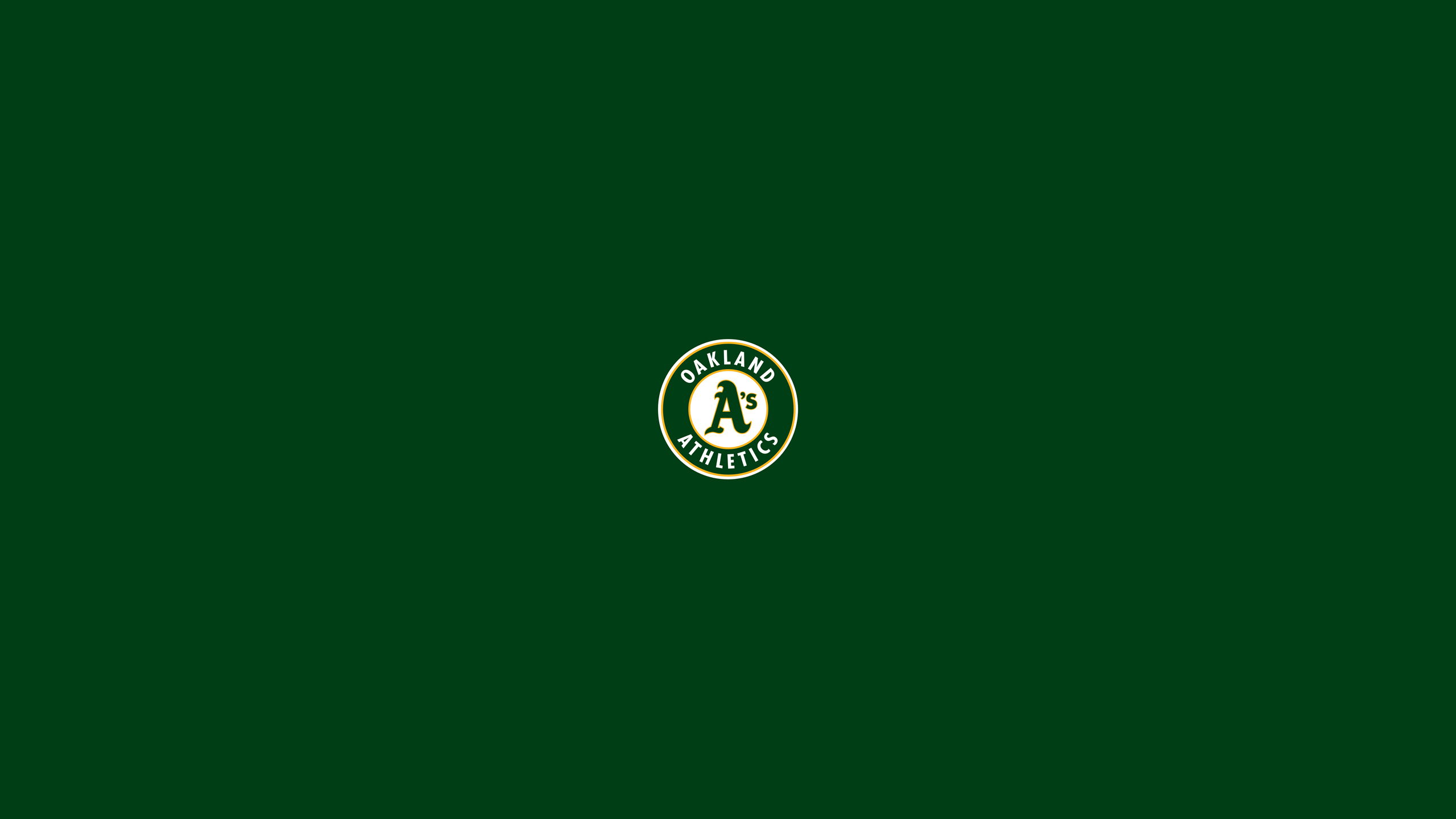 2560x1440 - Oakland Athletics Wallpapers 6