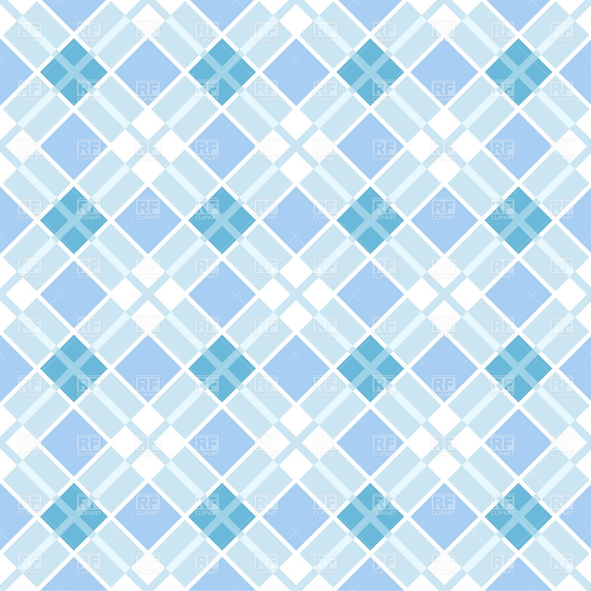 1200x1200 - Blue Plaid 14