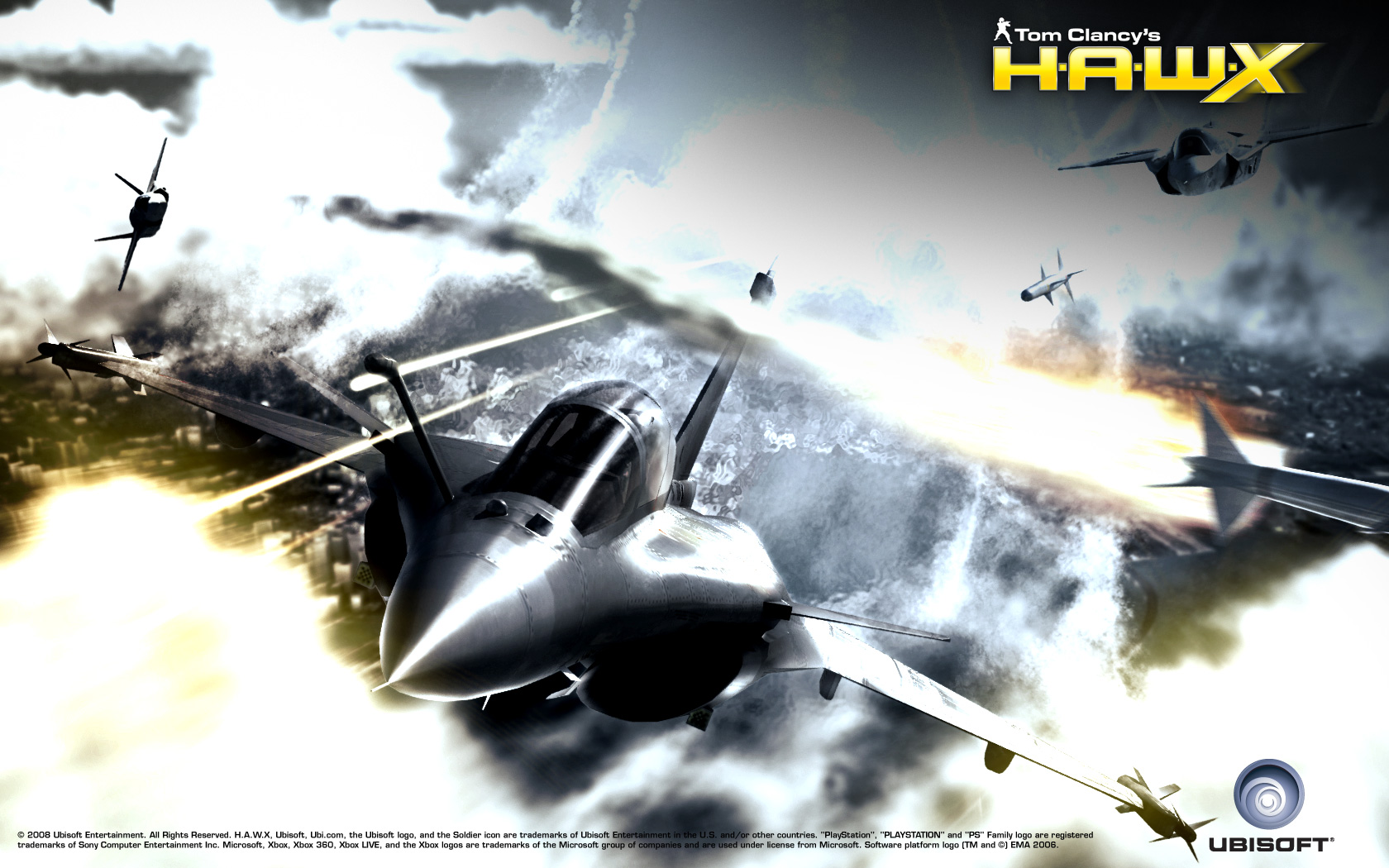 1680x1050 - Tom Clancy's H.A.W.X HD Wallpapers 38