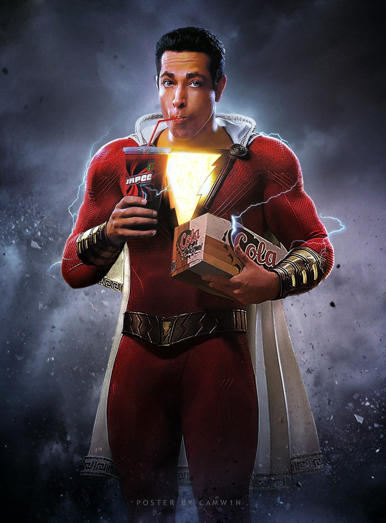 1330x1803 - Shazam! Wallpapers 4