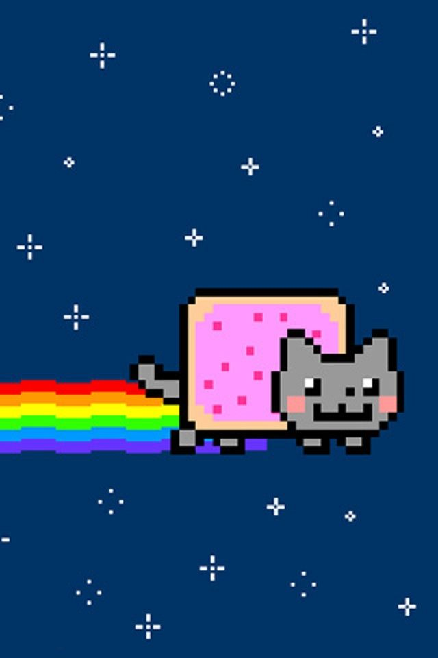 640x960 - Nyan Cat iPhone 1