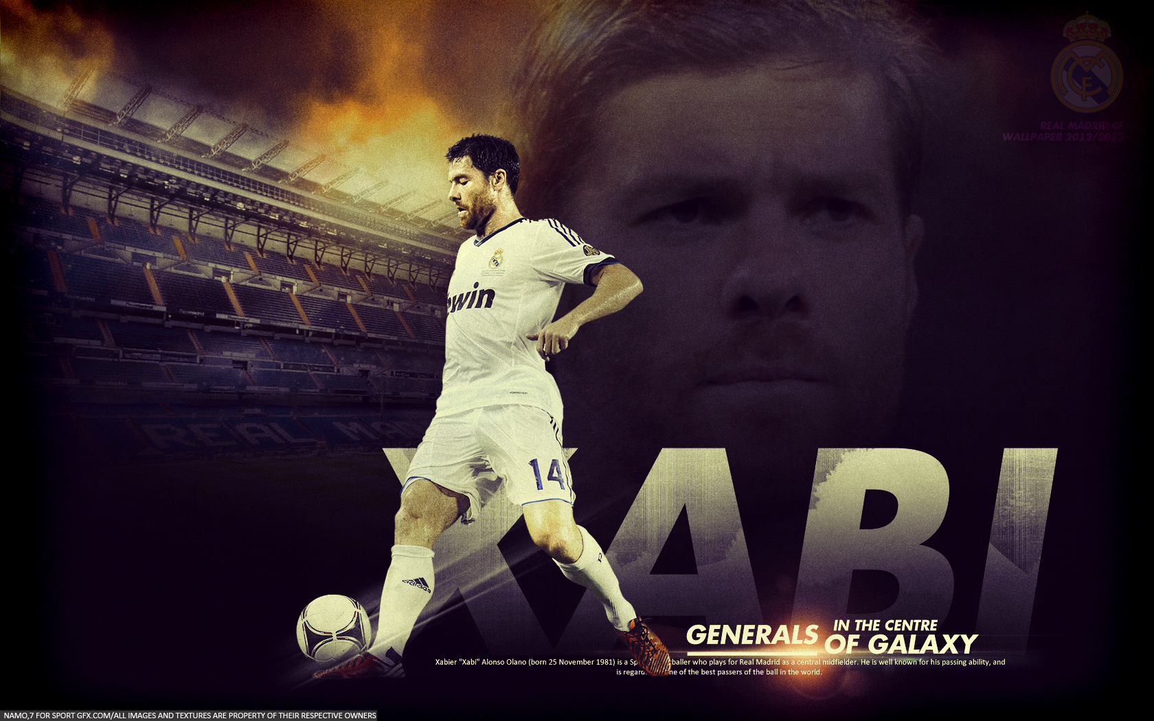 1680x1050 - Xabi Alonso Wallpapers 12