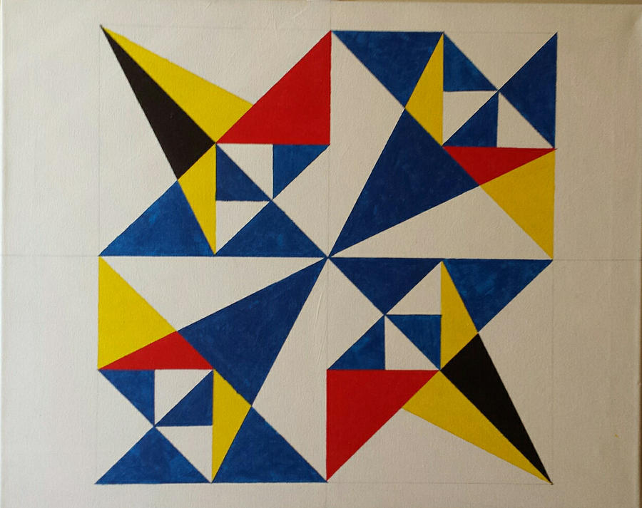 900x713 - Geometric Abstract 55