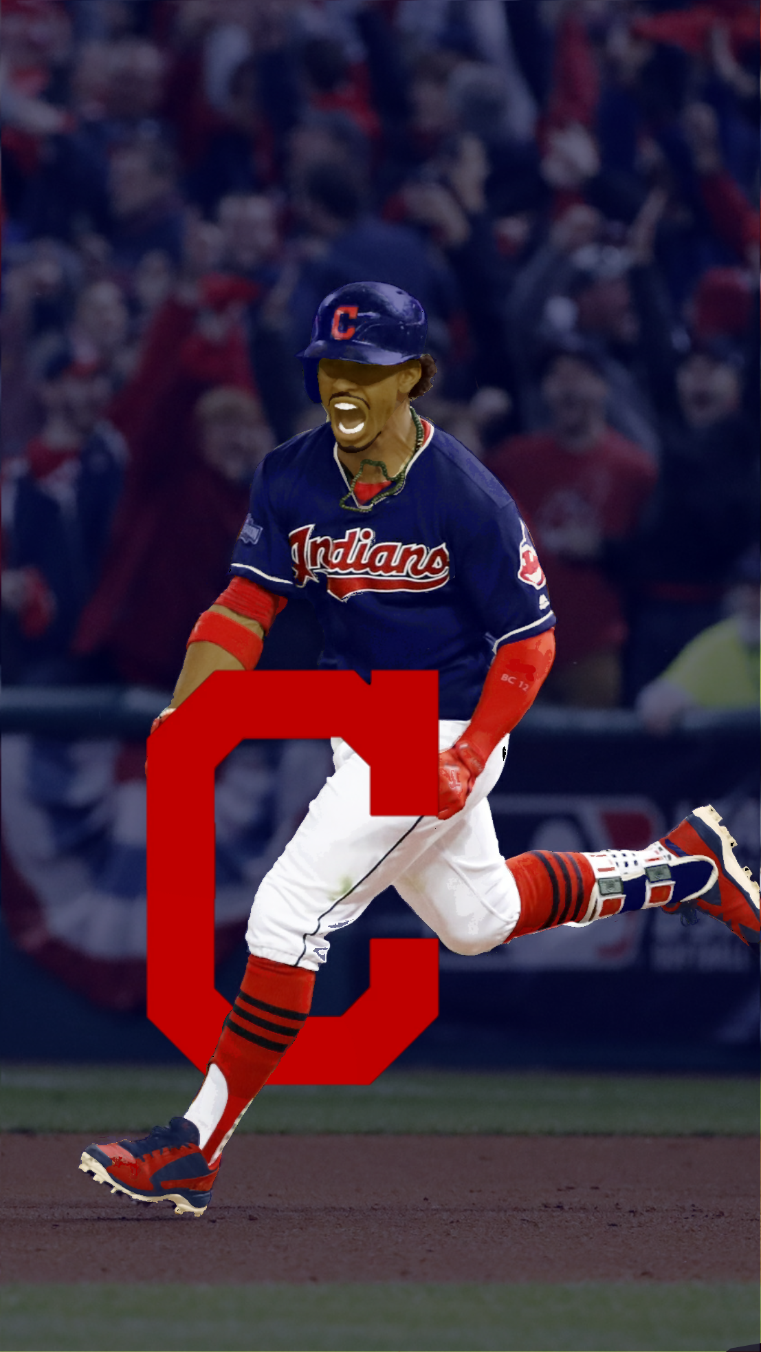 1107x1965 - Cleveland Indians Wallpapers 1
