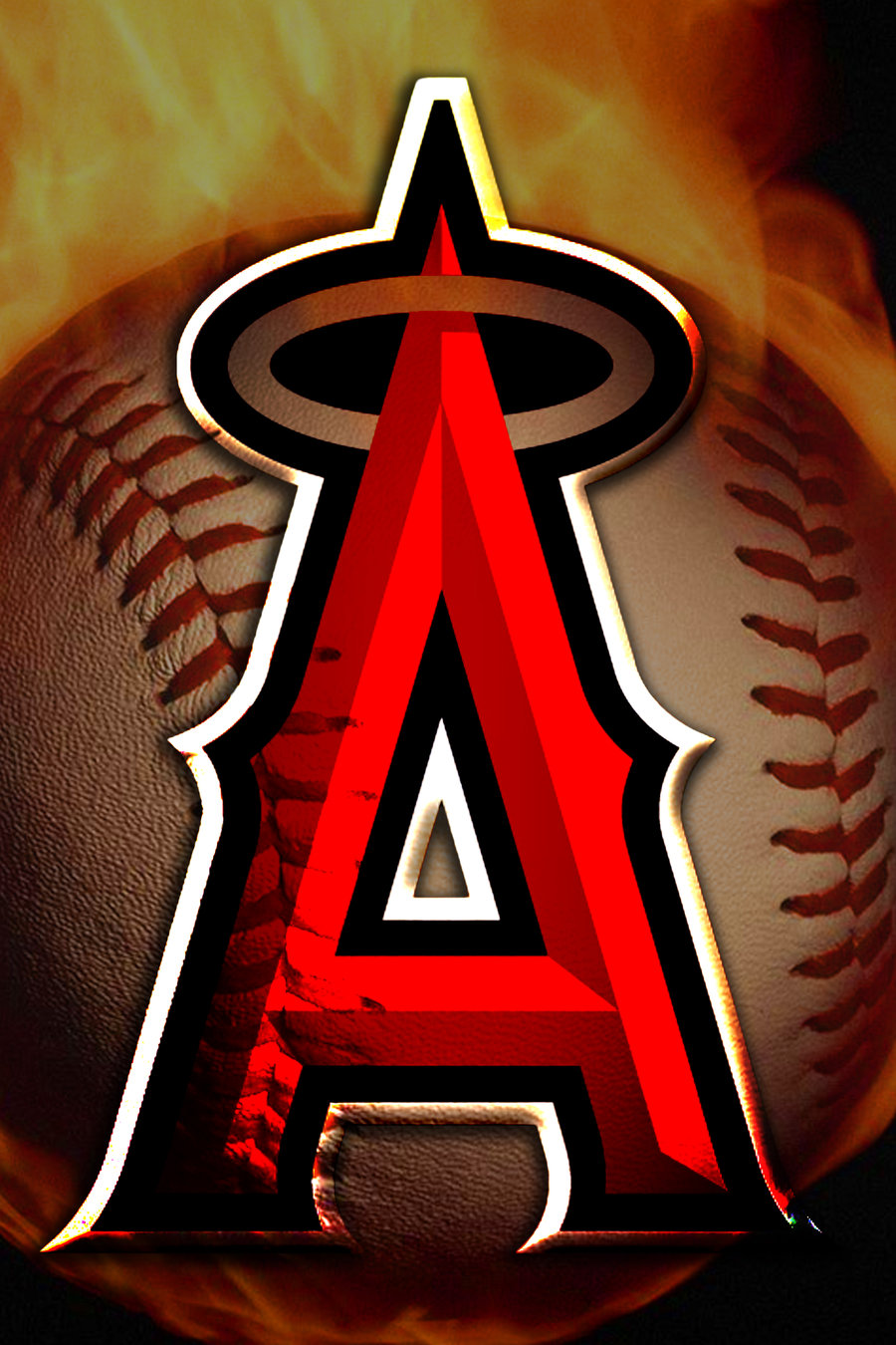 900x1350 - Los Angeles Angels of Anaheim Wallpapers 11