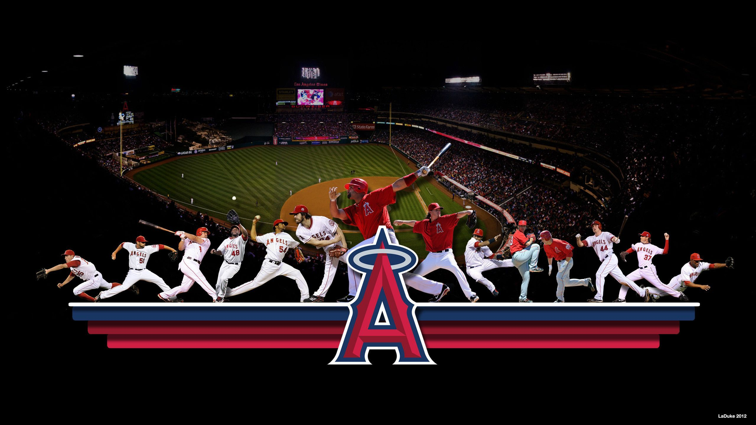 2560x1440 - Los Angeles Angels of Anaheim Wallpapers 1
