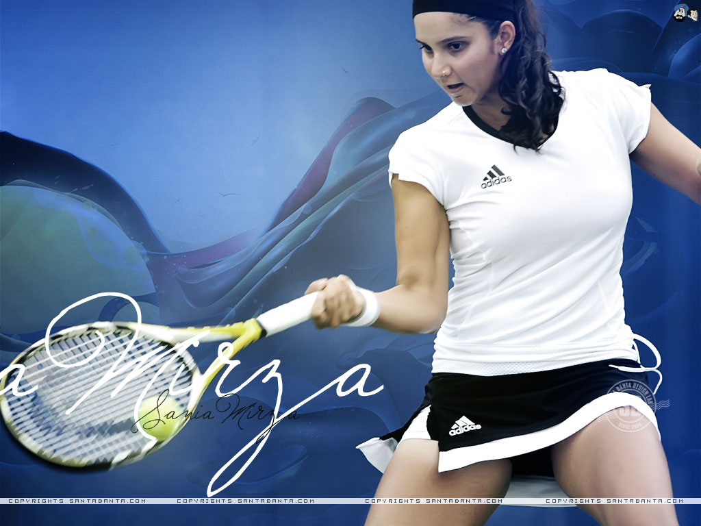 1024x768 - Sania Mirza Wallpapers 3