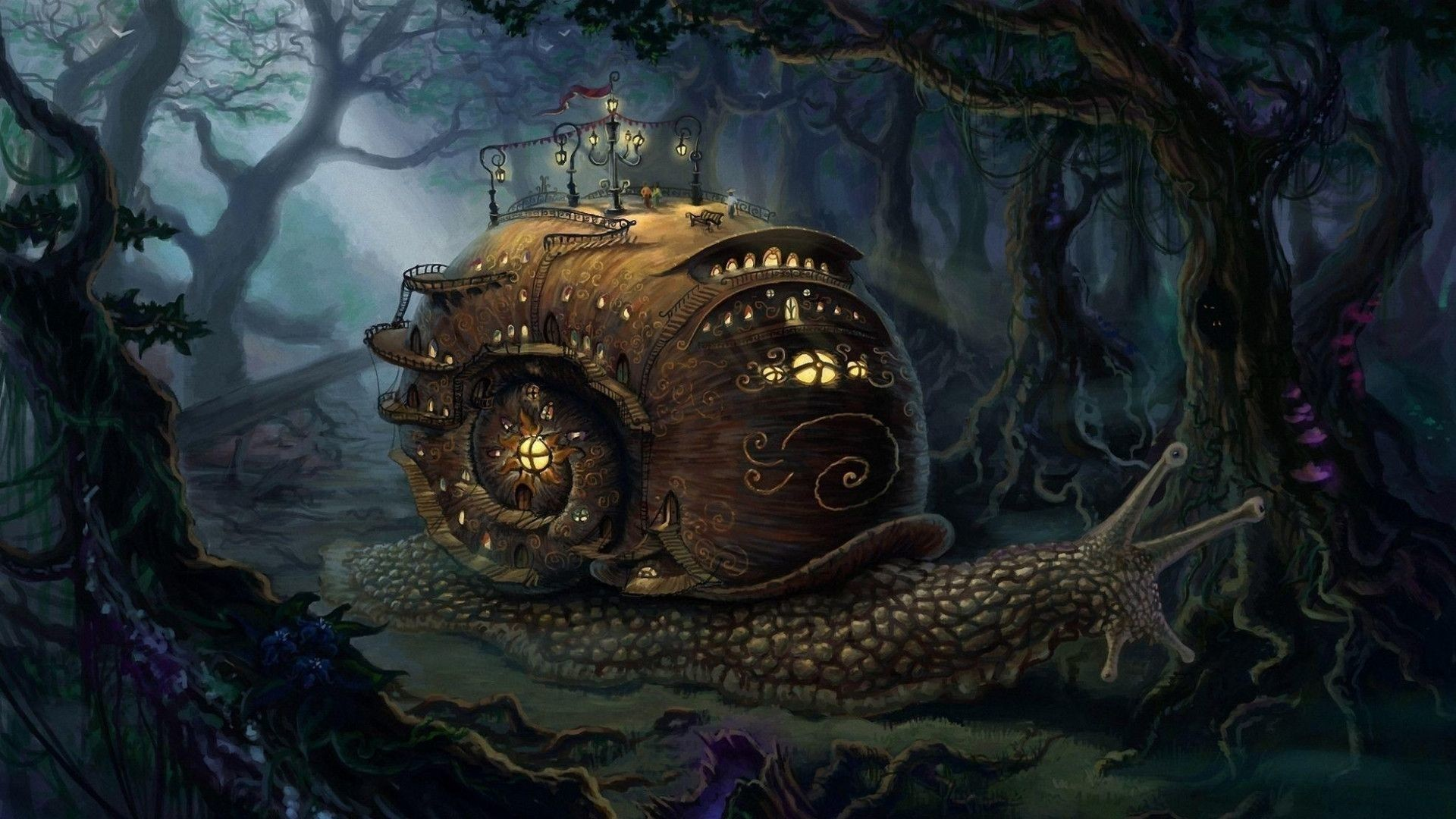 1920x1080 - Steampunk Wallpapers 21