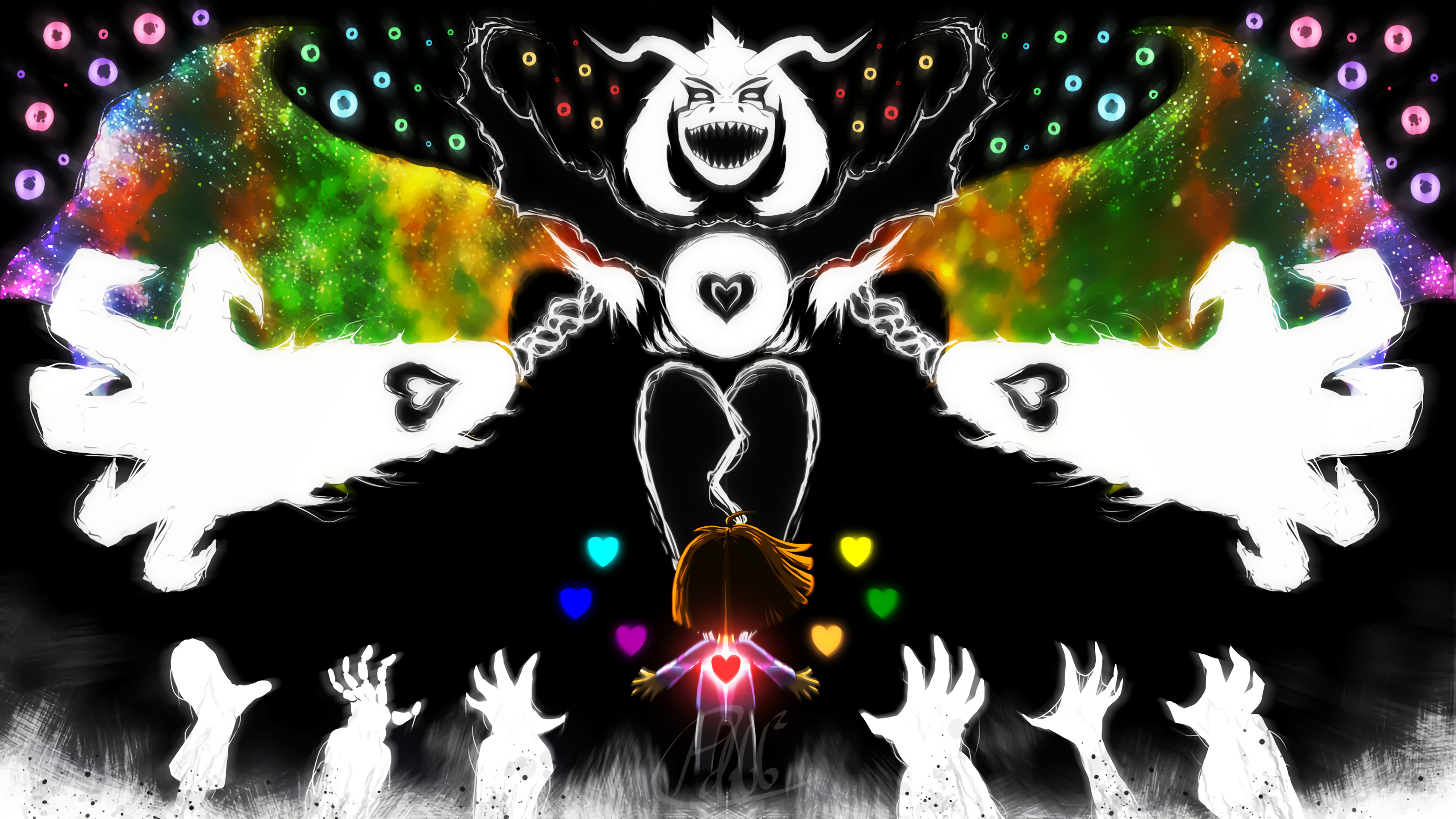 3200x1800 - Undertale Wallpaper 1920x1080 48
