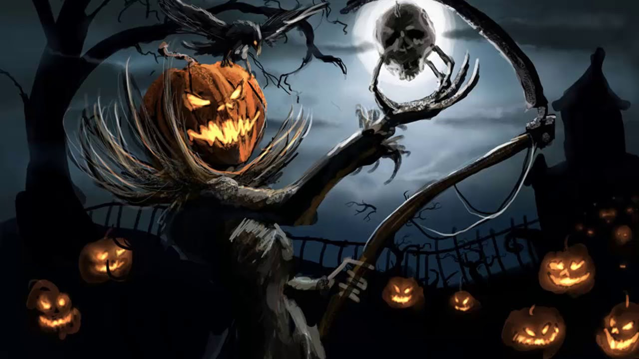 1280x720 - Scary Halloween Background 15