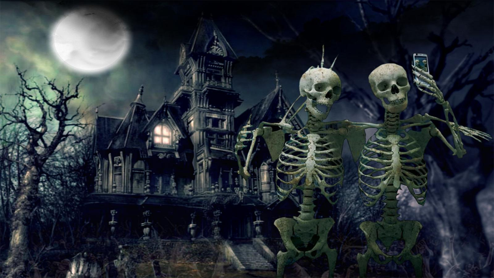 1600x900 - Scary Halloween Background 14