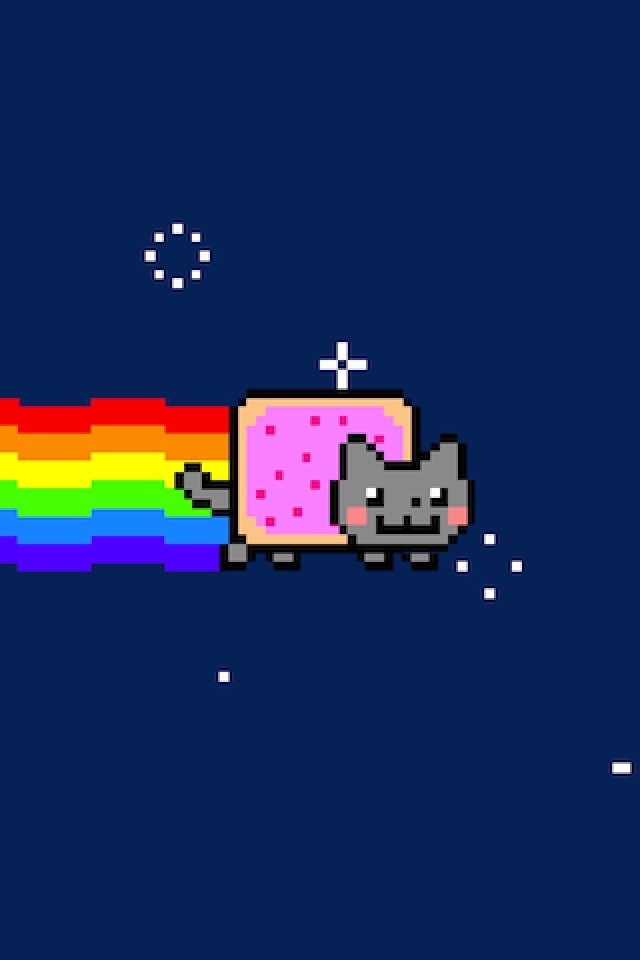 640x960 - Nyan Cat iPhone 9