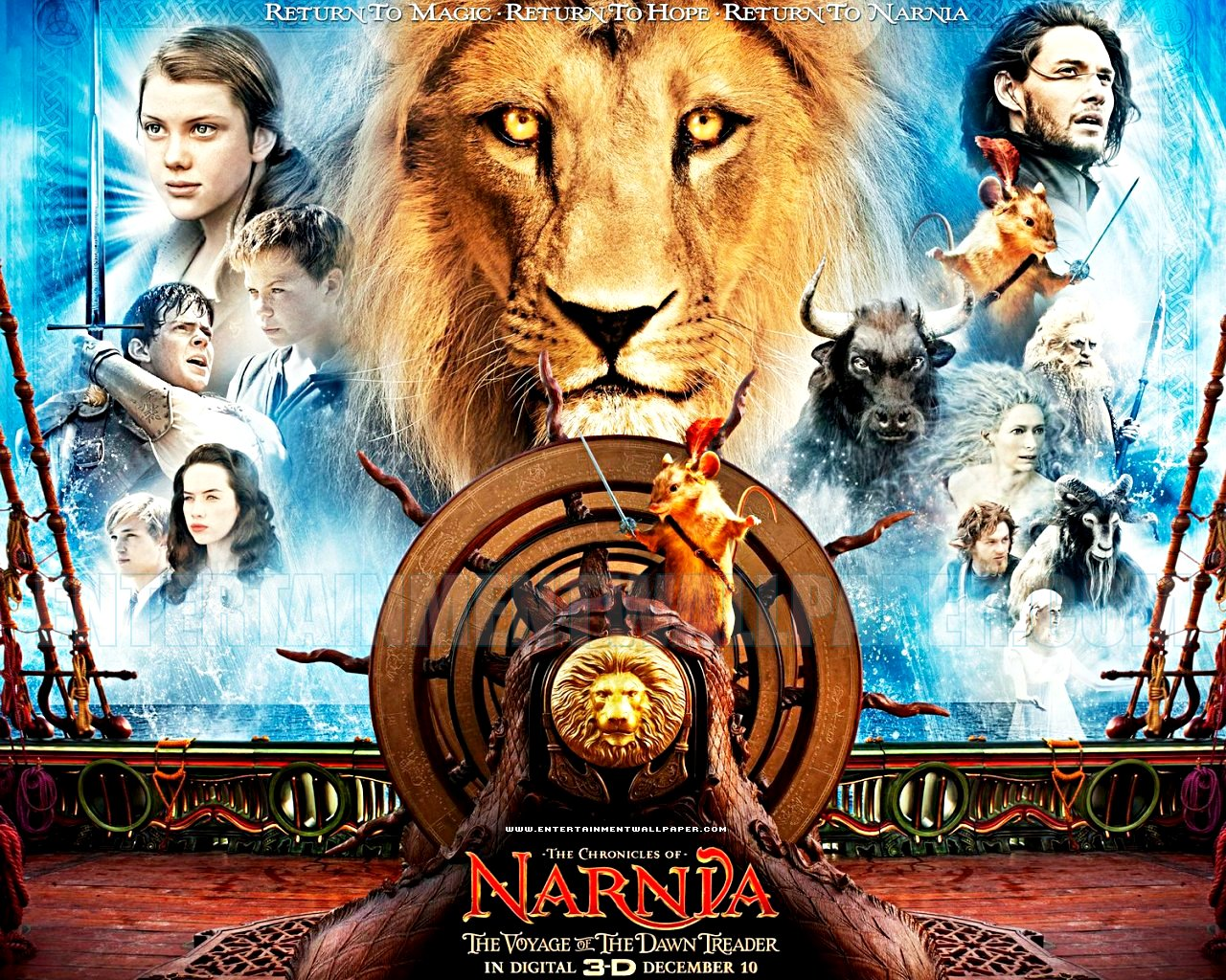 1280x1024 - The Chronicles of Narnia: The Voyage of the Dawn Treader Wallpapers 17