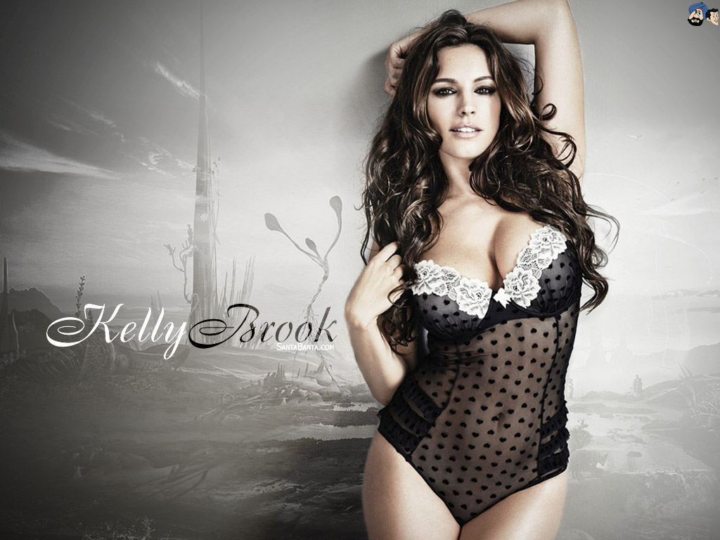 1024x768 - Kelly Brook Wallpapers 11