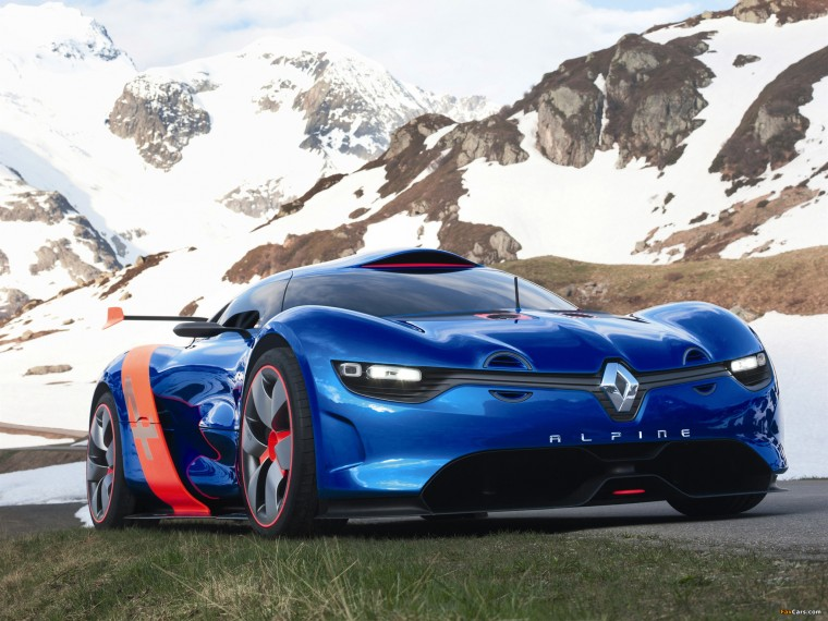 Alpine A110-50 Wallpapers