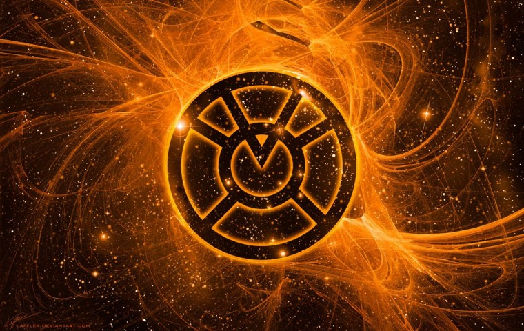 Orange Lantern Corps Wallpapers