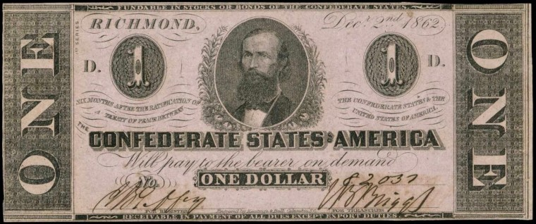 Confederate States Of America Dollar Wallpapers