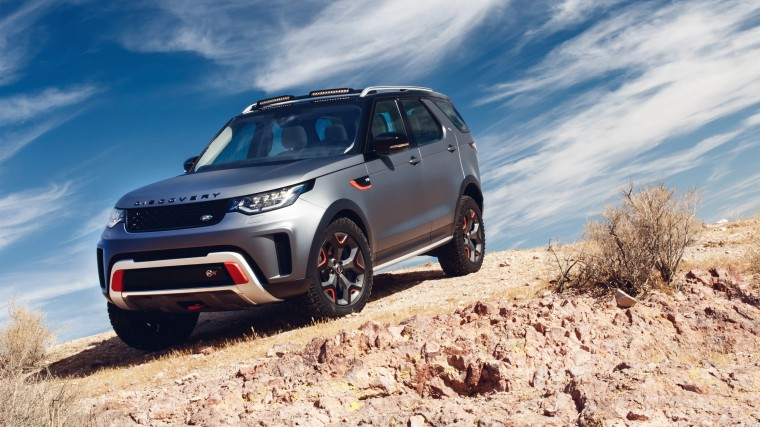 Land Rover Discovery Wallpapers