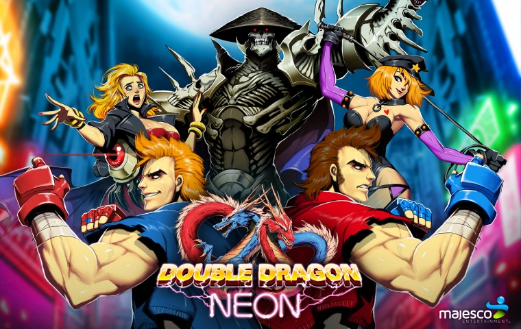 Double Dragon Neon HD Wallpapers