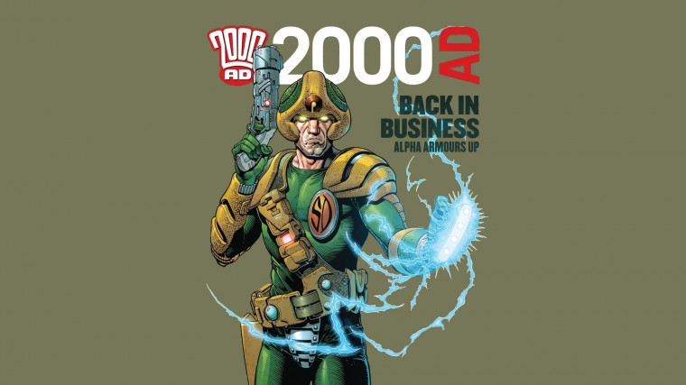 2000 AD Wallpapers