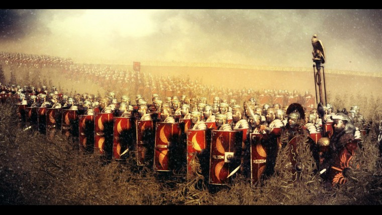 Roman Legion Flag Wallpapers