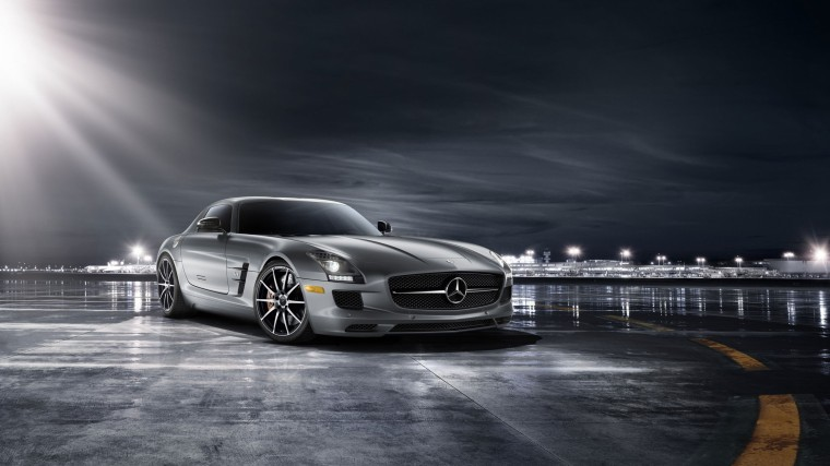 Mercedes-Benz SLS AMG Wallpapers