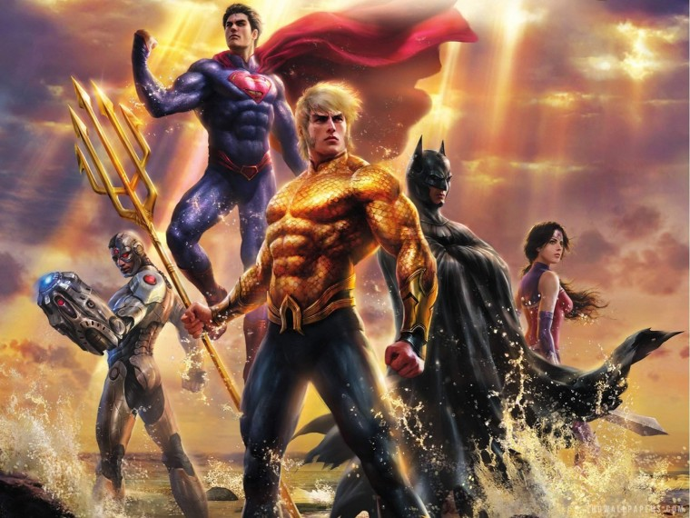 Justice League: Throne of Atlantis Wallpapers