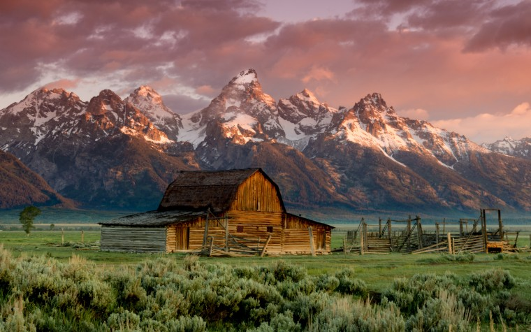 The Teton Range Wallpapers