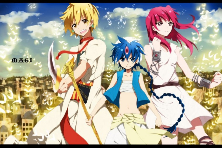 Magi: The Labyrinth Of Magic Wallpapers