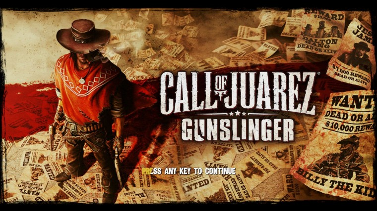 Call Of Juarez: Gunslinger HD Wallpapers