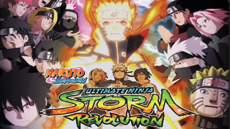Naruto Shippuden: Ultimate Ninja Storm Revolution HD Wallpapers