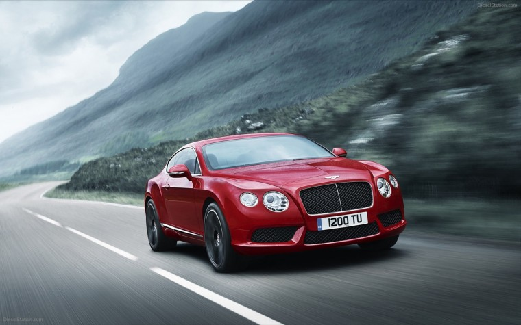 Bentley Continental GT V8 Wallpapers