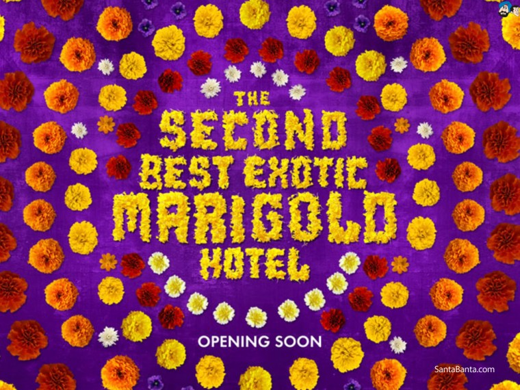 The Second Best Exotic Marigold Hotel Wallpapers