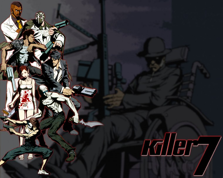 Killer7 HD Wallpapers