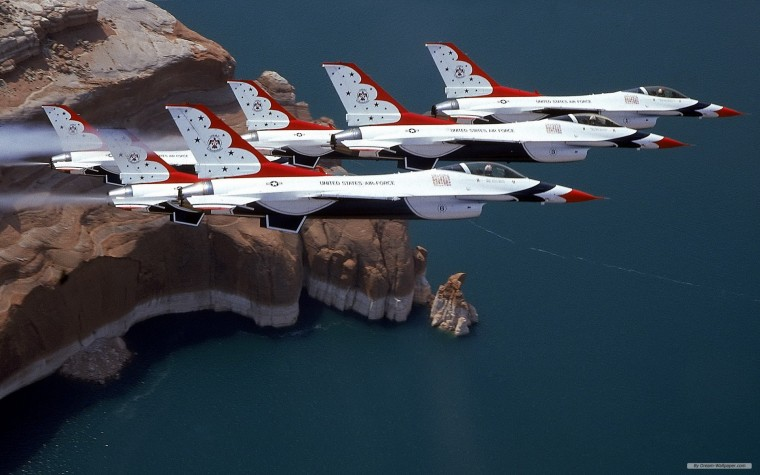 United States Air Force Thunderbirds Wallpapers